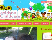 Davidson Childcare – Web Design